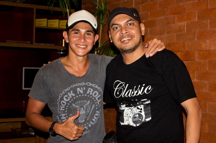 With Vino Bastian